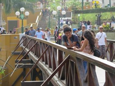 Puente de los Suspiros - Barranco, Lima, Perú