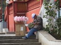 Street vendor in Barranco