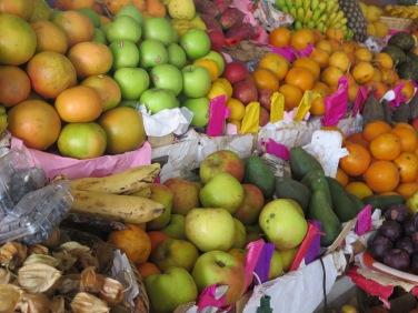 Fruits at the Mercado