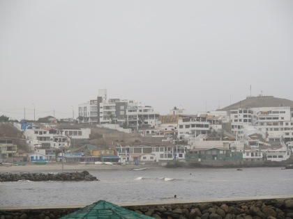 View of San Bartolo from the beach