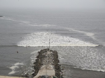 View from el malecón